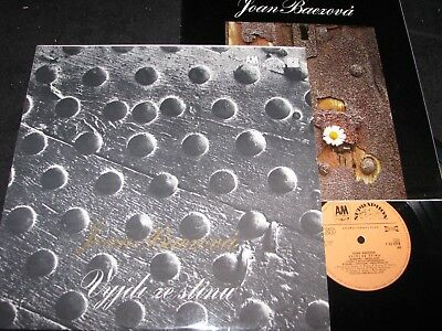 JOAN BAEZ Vyjdi Ze Stinu / Czech Club LP 1973 incl. Booklet SUPRAPHON 1131378