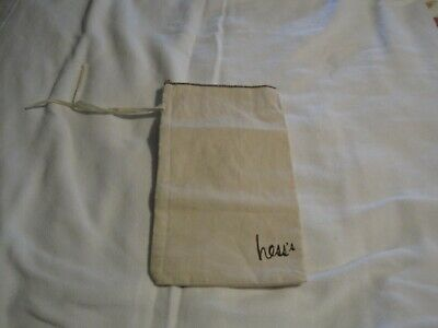 """Canvas Hess's Department Store """"Daddy Bag"""" Vintage"""
