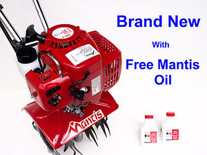Mantis Tiller, Model 7225 BRAND NEW - Shipped in Factory Box with Free Oil