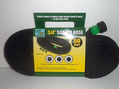 Lot of 2 Garden SOAKER Water HOSES 100 FT Heavy Duty Hose FLAT (SALE) USA SELLER