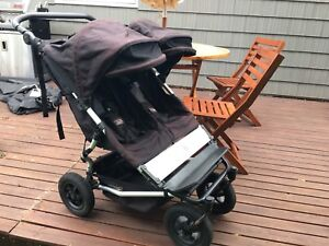 Mountain Buggy Duet bundle with carrycot