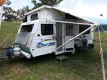 2001 Caravan Jayco Freedom pop top. Set up for free camping. Port Macquarie Port Macquarie City Preview