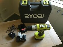 Ryobi drill as new $30 Bridgewater Adelaide Hills Preview