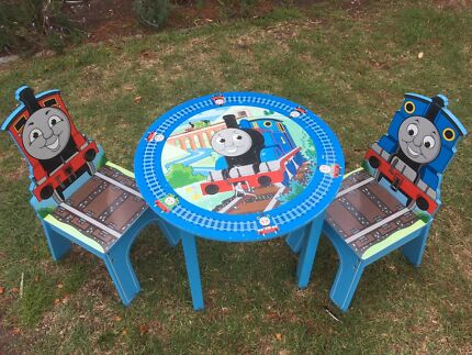 Thomas the Tank Engine table and 2 chairs