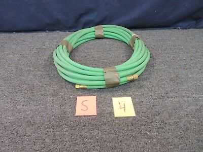 50 Feet Military Surplus Oxygen Welding Hose O2 Supply Line Gas Green New