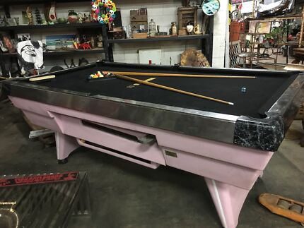 Old School Coin Operated Pool Table Accessories In Mint Condition - Old school pool table