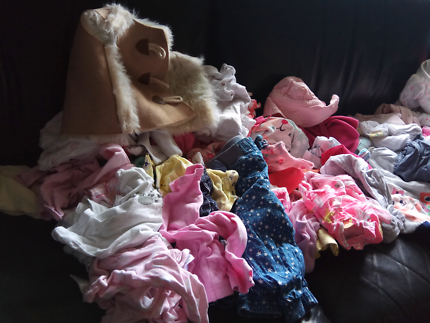 Variety of children's clothes  sizes 000-0. Great condition