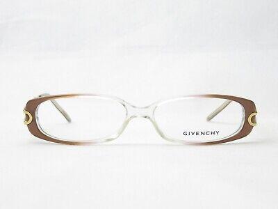 Givenchy Brille 52□14 135 Designer Brillenfassung Kunststoff Metall Trend Damen