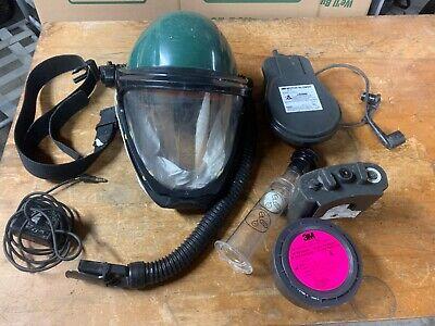3m Powered Purified Helmet Respirator L-163