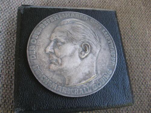 Original WWII era Hermann Goering Technical Achievement Award with Case
