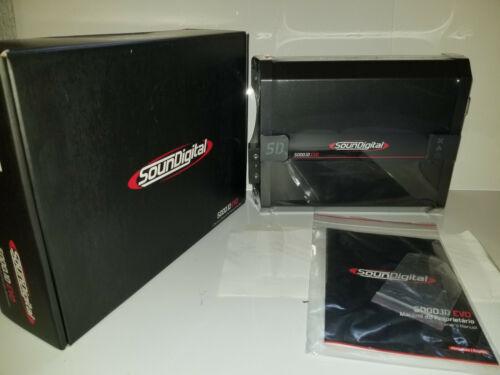 Soundigital 5000.1D EVO 1 OHM  5000W Max Power Monoblock Amplifier FREE SHIPPING