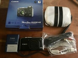 Canon PowerShot SX230 HS Digital Camera - 12.1MP