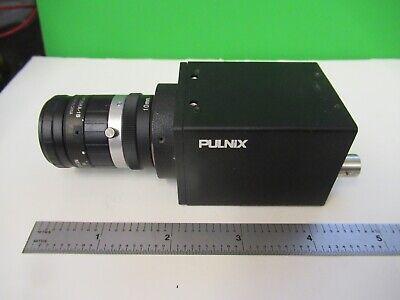 Pulnix Ccd Camera Tm-200 Fujinon Lens Microscope Part As Pictured 80-a-11