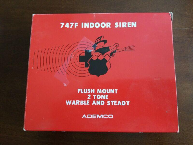Ademco 747F Flush Mount Indoor Siren