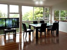 Dining Table (Solid Wood) and 7 Table (Wood and Leather) Castlecrag Willoughby Area Preview