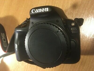 Canon EOS 100D 18.0MP Digital SLR Camera - Black (Body Only)