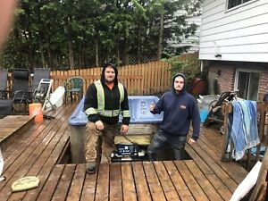 Sunshine Hot Tub Movers ( barrie's best and most reliable