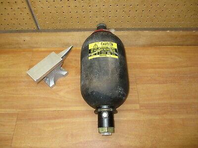 Hydac 02054004 Hydraulic Bladder Accumulator 1 Gal 3000psi Sb330-4a1112s-210c