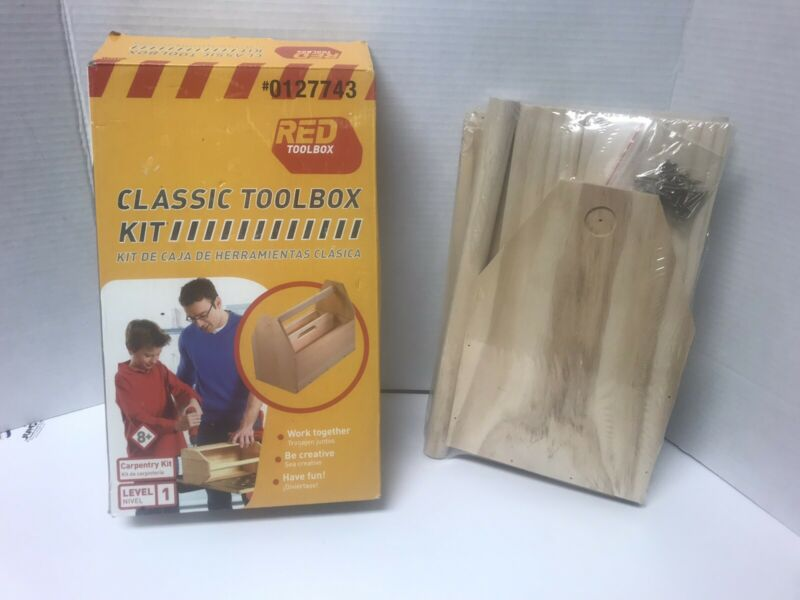 Red Toolbox Classic Toolbox Kit Level 1 Set A