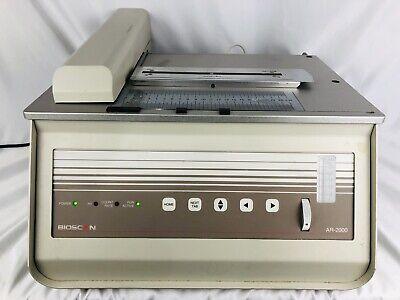 Bioscan Ar-2000 Radio - Tlc Imaging Scanner B-ar-2000-1 Free Shipping