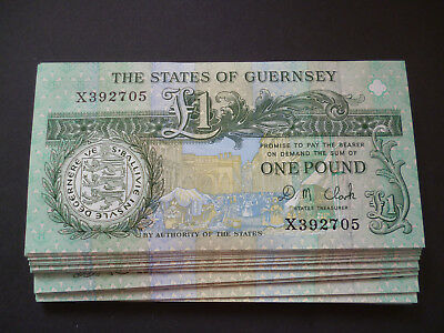 A STATES OF GUERNSEY £1 ONE POUND NOTE IN UN-CIRCULATED MINT CONDITION BANKNOTE.