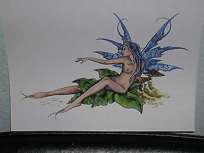 Amy Brown - Faery II - OUT OF PRINT - VERY RARE