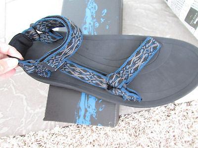 Teva Mens Torin Open Toe Sport Sandal Shoes, Panjea Blue, US