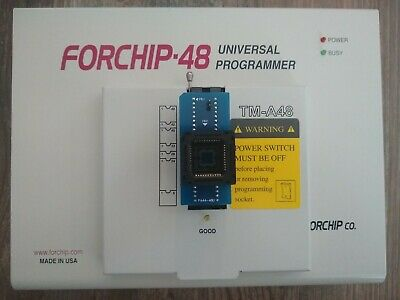 Forchip-48 Tm-a48 Universal Device Chip Programmer With Pa44-48u Chip Adapter