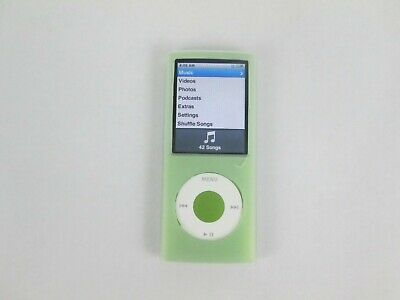 iPod Nano 8GB 4th Gen A1285 2287 Green