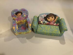 Dora flip sofa and chair