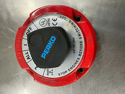 Perko Dual Battery Cutoff Switch 8503