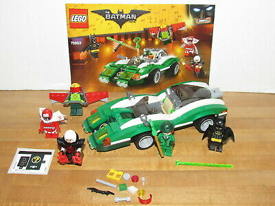 The Lego Batman Movie 70903 Riddler Riddle Racer Loose Complete magpie kite man