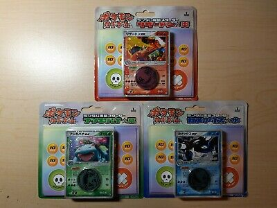 1ST ED Charizard Venusaur Blastoise Fire Red Leaf Green Japanese Pokemon Decks