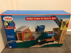 NEW 5xThomas & Friends Engine Wooden Playset Rooty Hill Blacktown Area Preview