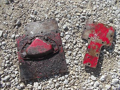 International 340 Utility Tractor Original Ih Ta Cover Panel Panels
