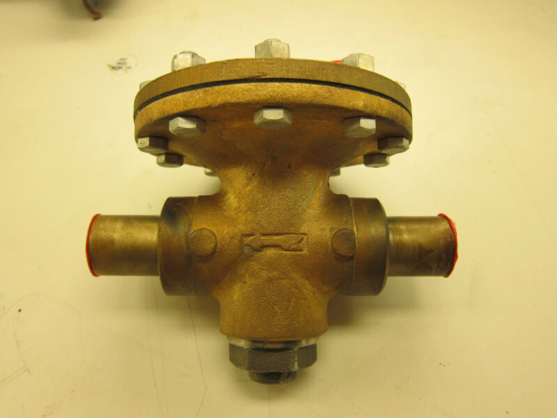 "CASH ACME D53 PRESSURE CONTROL VALVE  SIZE 1"" 250 PSI NEW Normally Closed"
