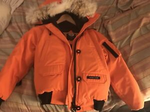 Canada goose Chilliwack Bomber -Orange RARE! OR TRADE IPHONE X