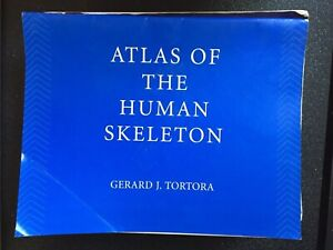 2 Books (Atlas of the Human Skeleton & Human Anatomy and Physiology) Cranbourne Casey Area Preview