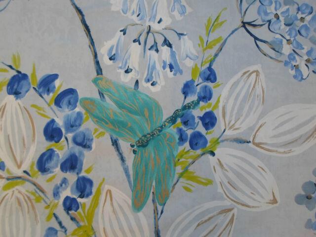 Designers Guild Fabric 'Kimono Blossom' Delft 1.9 METRES (190cm) 100% Cotton
