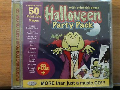 Halloween Party Pack CD Music & Printable Pages, invites games recipes and more!](Halloween Party Invitations Printable)