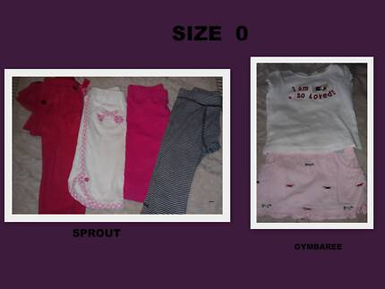 Baby Girls Size 0 Sprout Target Winter Lot Baby Clothing