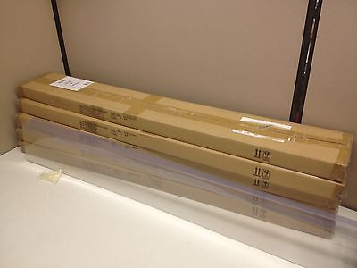 Lot Of 25 48 X 6 Tall Retail Price Label Sign Holder Gondola Shelf Shelving