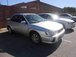 2001 Subaru Impreza RX 2.0 Sedan Wangara Wanneroo Area Preview