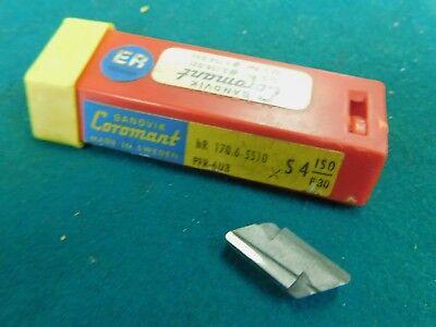 10 Sandvik Coromant Hr 170.6-5510 M Pfr-6u3 Carbide Inserts Knux 160410r