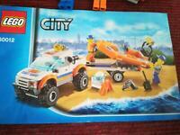 Lego City 60012 Küstenwachenfahrzeug mit Schlauchboot Niedersachsen - Oldenburg Vorschau