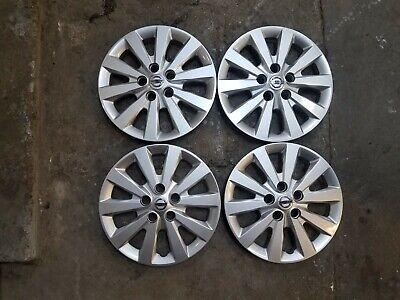 1 New Set 2013 2014 2015 2016 2017 Leaf Sentra 16 Hubcaps Wheel Covers 53089