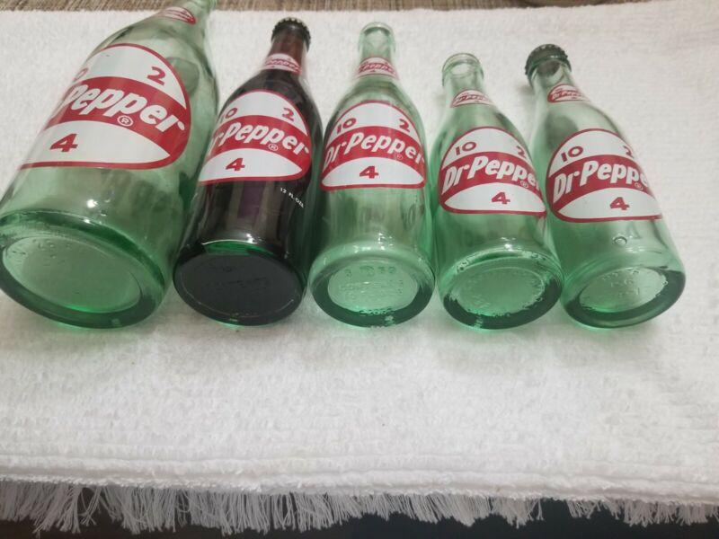 Dr Pepper. Bottle.
