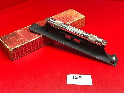 Vtg Starrett No. 98-12 Machinist Level In Factory Box Collectible