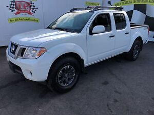 2018 Nissan Frontier PRO-4X, Crew Cab, Leather, 4*4, 18,000km