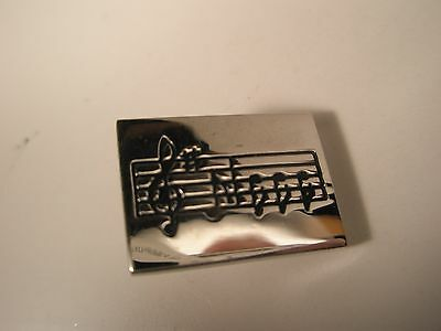 Sheet Music Vintage Tie Clip Gift note clef gift